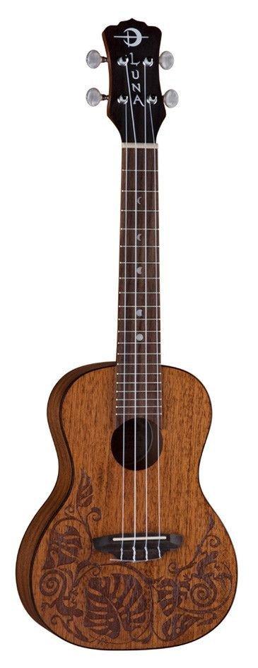Luna Mahogany Mo`o Concert - ukulele koncertowe