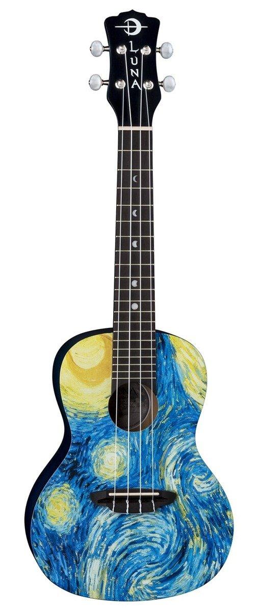 Luna Uke Starry Night - ukulele koncertowe