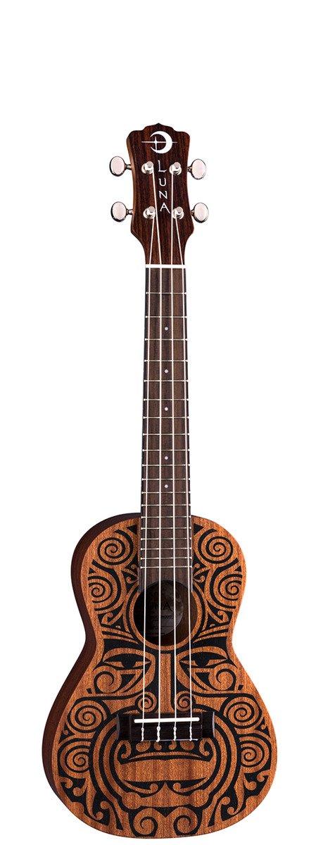 Luna Uke Tribal - ukulele koncertowe