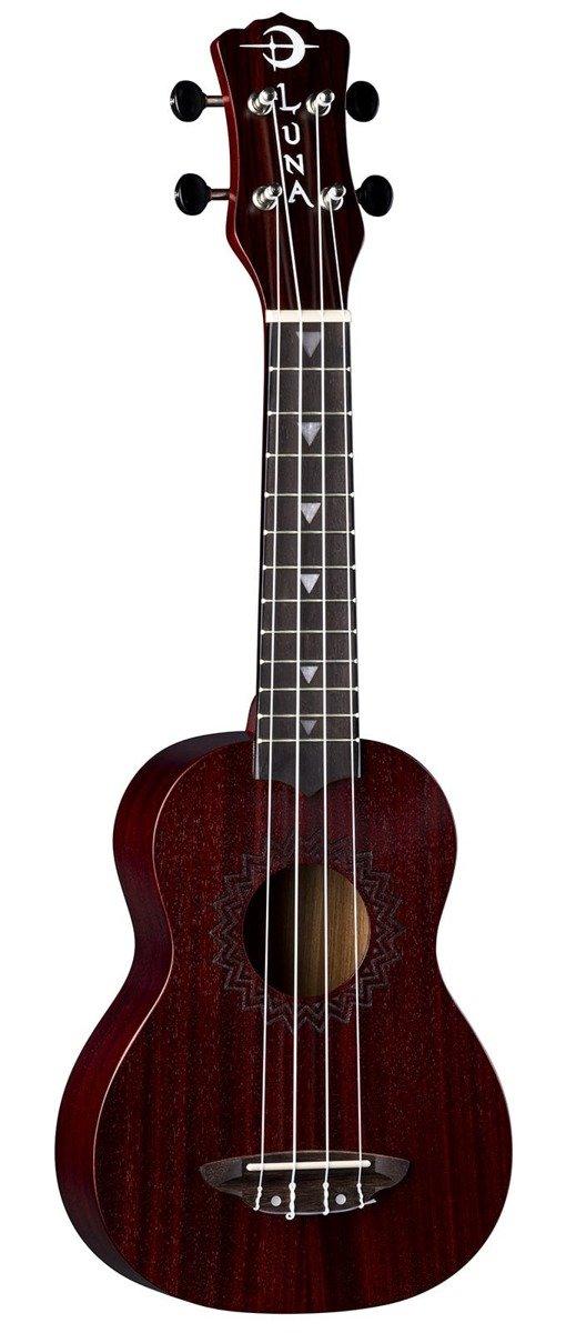 Luna Uke Vintage MS RD - ukulele sopranowe