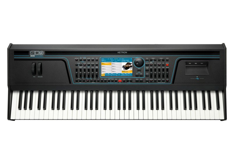 Ketron SD 9 Pro Live Station - Keyboard